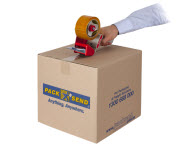 seal the parcel box with quality packing tape