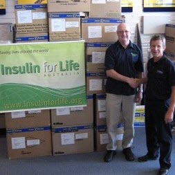 Insulin for life shipping