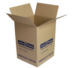 PACK & SEND removalist carton (tea chest)