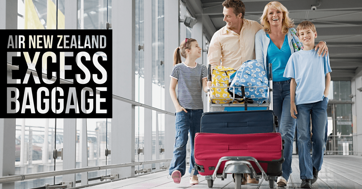 air new zealand excess baggage
